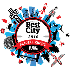 Refind Westender Readers Choice Award