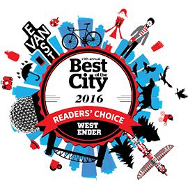 Refind Westender Readers Choice Award